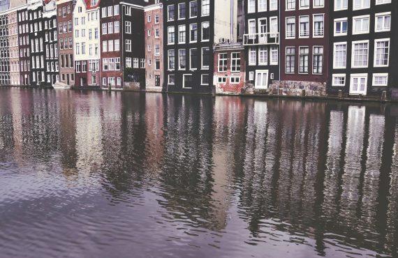 Amsterdam in photos – modern vs vintage