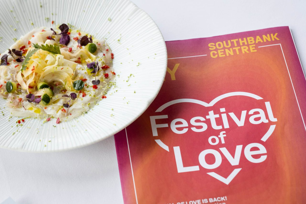 We Tried Skylon's Festival of Love Menu
