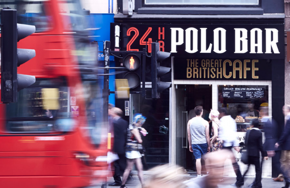 Polo Bar – fuelling the City 24 hours a day